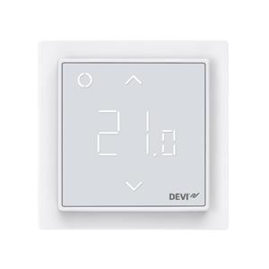 Терморегулятор DEVI DEVIreg™ Smart интеллектуальный с Wi-Fi, полярно-белый, 16А