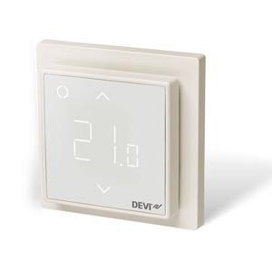 Терморегулятор DEVI DEVIreg™ Smart интеллектуальный с Wi-Fi, белый, 16А