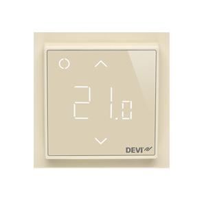 Терморегулятор DEVI DEVIreg™ Smart интеллектуальный с Wi-Fi, бежевый, 16А