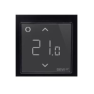 Терморегулятор DEVI DEVIreg™ Smart интеллектуальный с Wi-Fi, черный, 16А