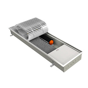 Внутрипольный конвектор EVA KB.90.258.1000 с вентилятором