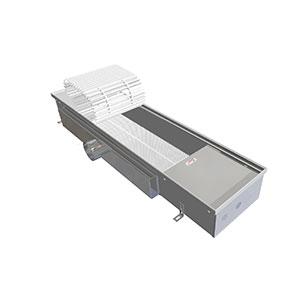 Внутрипольный конвектор EVA KА.125.243.1000 приточная вентиляция «Аэро»