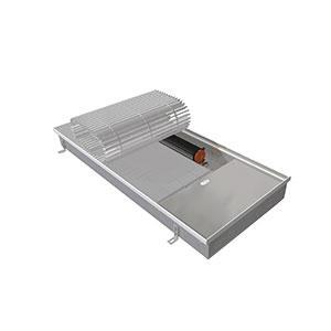 Внутрипольный конвектор с вентилятором EVA KB.90.403.2000
