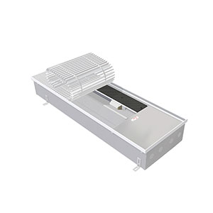 Внутрипольный конвектор с вентилятором EVA КВХ.125.303.1250, 3511 Вт