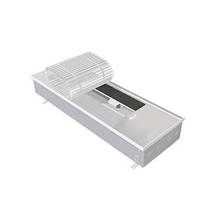 Внутрипольный конвектор с вентилятором EVA КВХ.125.303.2500, 8134 Вт