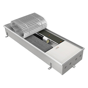 Внутрипольный конвектор EVA KBO.100.303.1000 с вентилятором для бассейна