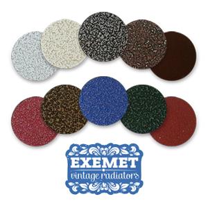 Цветовая палитра EXEMET