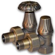 Комплект декоративные вентили EXEMET 1/2″ угловые Бронза, арт. 0320-1056Z000