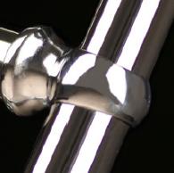 Кольцо хромированное, трубки хромированные