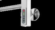 Проводка скрытая для электрического полотенцесушителя
