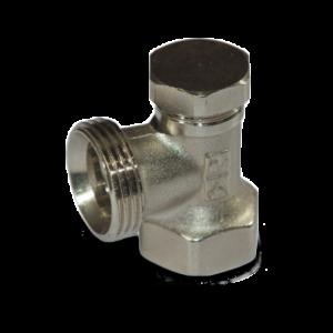 Вентили VARMANN запорный, DN15, G 3/4″, тип 701312 (угловой)
