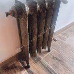 Чугунный радиатор EXEMET Rococo бронза