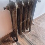 Чугунный радиатор Rococo бронза