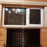 Чугунный трубчатый радиатор EXEMET Neo, цвет чёрный
