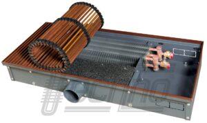 Внутрипольные конвекторы Techno Air с подачей воздуха от приточной вентиляции