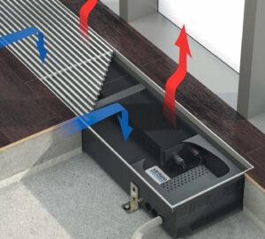 Внутрипольный конвектор VARMANN Ntherm Electro