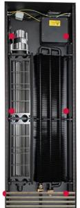 Внутрипольные конвекторы Mohlenhoff QSK с вентилятором