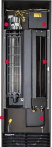 Внутрипольные конвекторы Mohlenhoff QSK HK с вентилятором