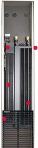 Внутрипольные конвекторы Mohlenhoff QSKM с вентилятором