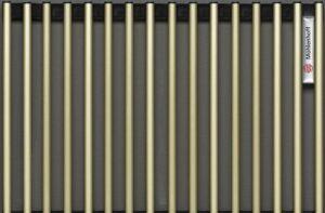 Декоративная решетка Mohlenhoff EV2 светлая латунь