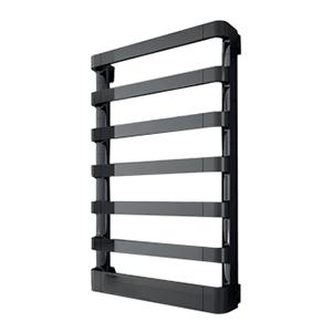 Радиатор-полотенцесушитель водяной Irsap Step_B, код 2E, цвет черный хром